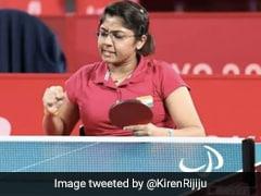Tokyo Paralympics: Kiren Rijiju, Deepa Malik Laud Bhavinaben Patel After Semi-Final Win