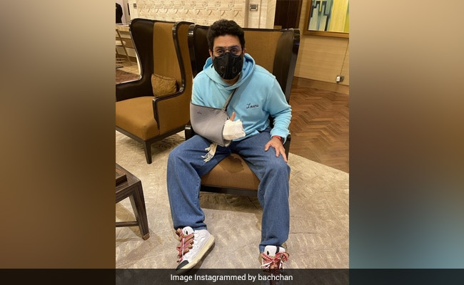 Abhishek Bachchan, Who Had A 'Freak Accident In Chennai,' Is All 'Patched-Up' After Surgery. Read His Post
