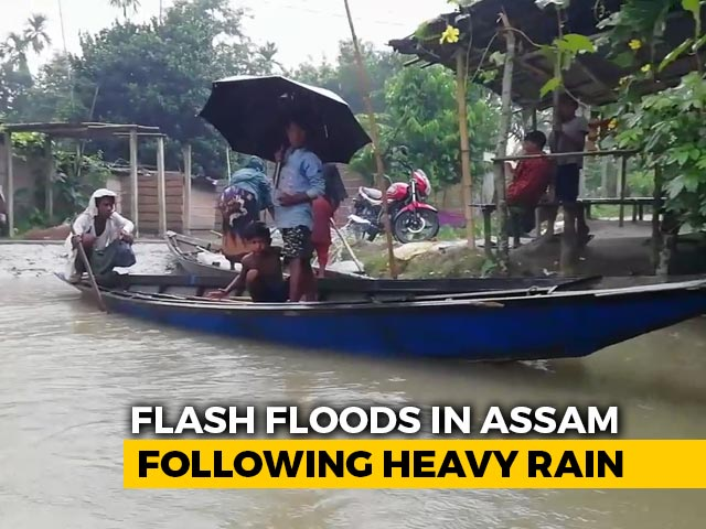 Video : Assam Floods Affect Over 1.33 Lakh Across 11 Districts