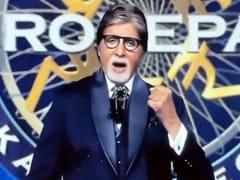 Navya Naveli Nanda Cheers For Grandfather Amitabh Bachchan On <i>Kaun Banega Crorepati 13</i> Premiere