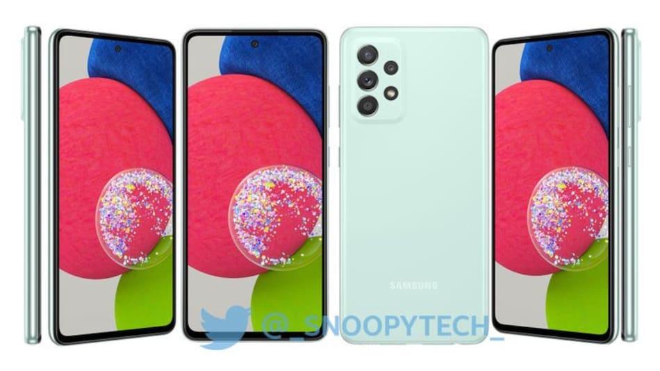 Samsung Galaxy A52s 5G इन रंगों में दे सकता है दस्तक, रेंडर्स हुए लीक