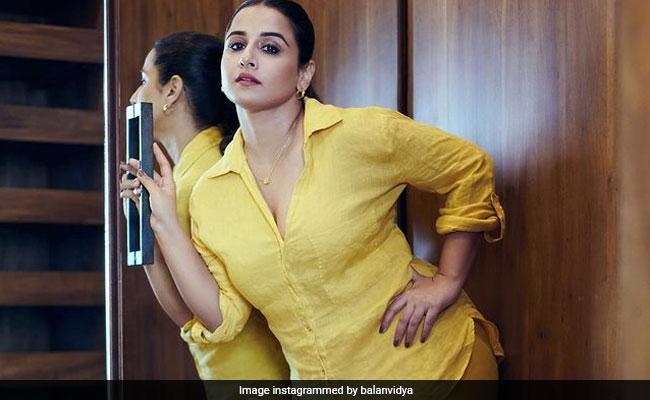 Vidya Balan's 'Favourite Weekend Hangout' Is... Wait For It... Her Closet