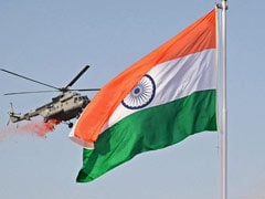 In A First, IAF Choppers Shower Flowers After Flag Unfurling At Red Fort