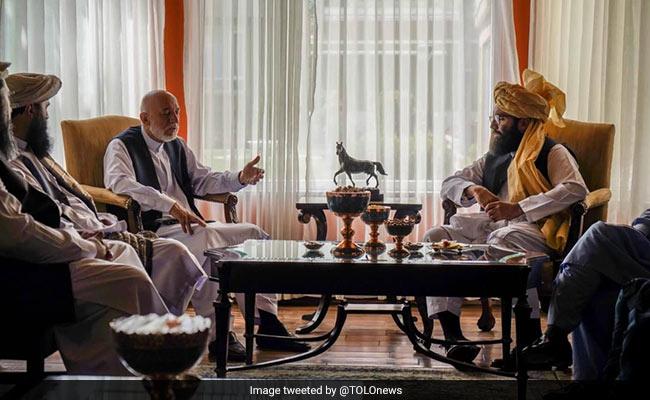 Ex Afghan President Hamid Karzai Meets Taliban Faction Chief Anas Haqqani