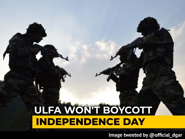 """Video : """"Open To Discussion"""": Assam's ULFA-I Ends I-Day Boycott After 40 Years"""