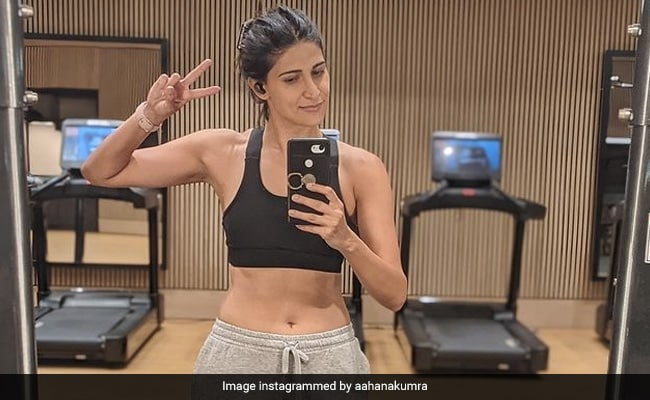 Aahana Kumra, Quarantined In London, Is Sweating It Out And How. See Pics