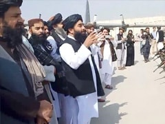 """""""Lesson For Other Invaders,"""" Taliban Say On Runway As US Troops Leave"""