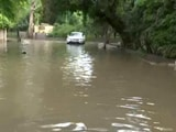 Video : Several Parts Of Delhi Waterlogged After Heavy Rain