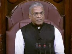 "Rajya Sabha Deputy Chairman Terms Trinamool MP's Behaviour ""Highly Deplorable"""