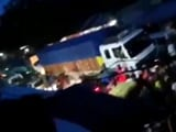 Video : Escorted By Police, Trucks Move Into Mizoram Through Assam Border