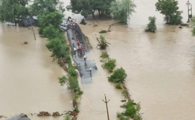 2 Dead, 7 Injured In Madhya Pradesh's Rain Fury, Rescue Ops Continue