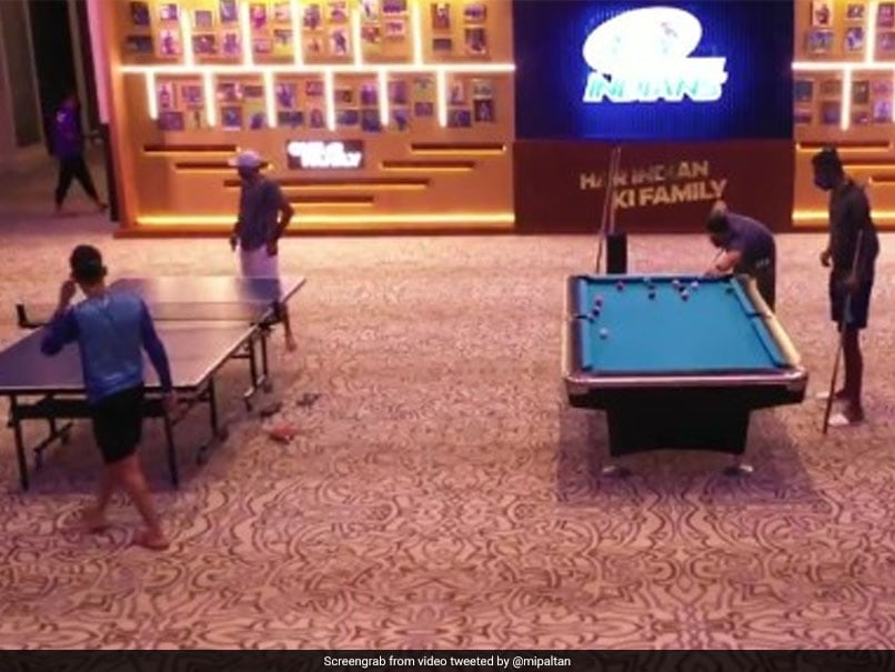 """Watch: Mumbai Indians Give Fans A Virtual Tour Of Their """"New Team Room"""""""
