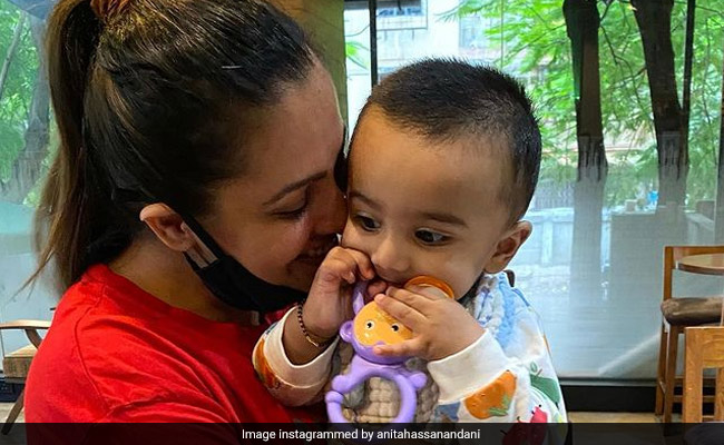 Am I 'Doing Enough?': Anita Hassanandani's Caption For Pic With Baby Son Is Moms Everywhere