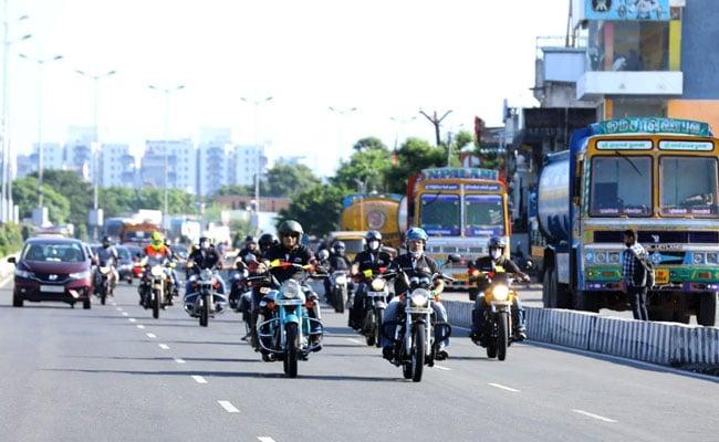 Chennai Hoteliers' Motor Bike Expedition To Promote Tourism