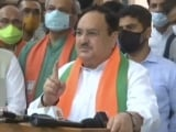 Video : Narayan Rane Arrest Against Constitutional Values, Won't Scare Us: BJP Chief JP Nadda