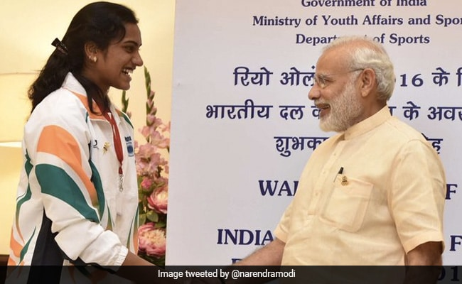"""""""She Is India's Pride"""": PM Tweets On PV Sindhu's Olympics Win"""
