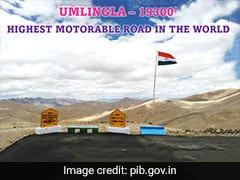 World's New Highest Motorable Road Constructed At Umling La, Ladakh