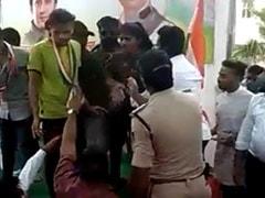 Woman Taken Off Stage After Uproar Over Speech In Madhya Pradesh: Cops