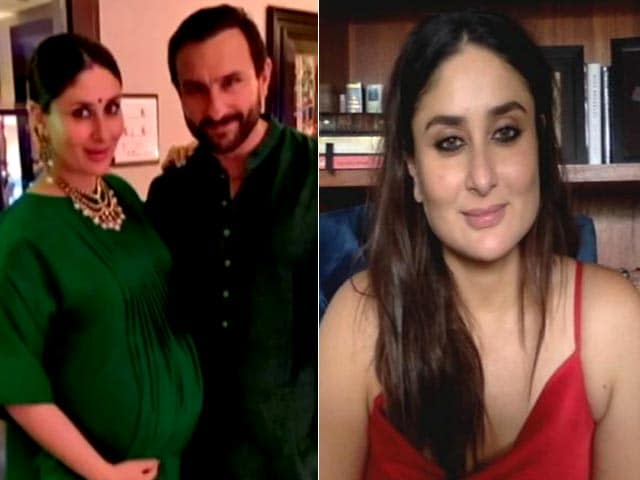 Video : Kareena Kapoor To NDTV On Being Honest About Her Pregnancies
