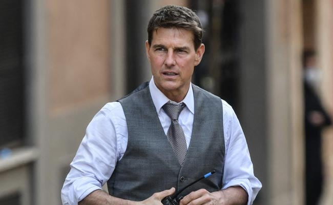 Daredevil Tom Cruise, 59, Rode Bike Off Cliff In 'Most Dangerous Stunt' For Mission: Impossible 7