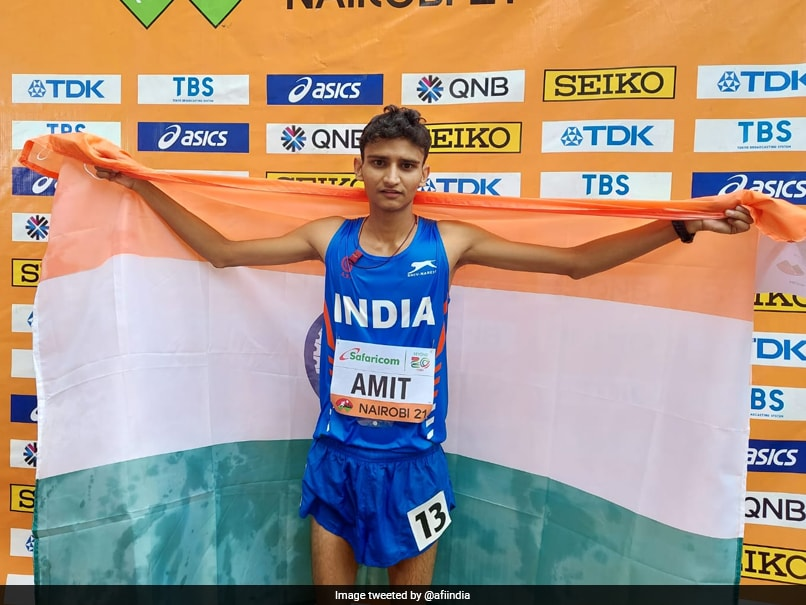 World Athletics U20 Championships: Indias Amit Wins Silver In 10,000m Race Walk