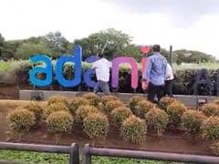Shiv Sena Workers Vandalise Adani Airport Signboard In Mumbai