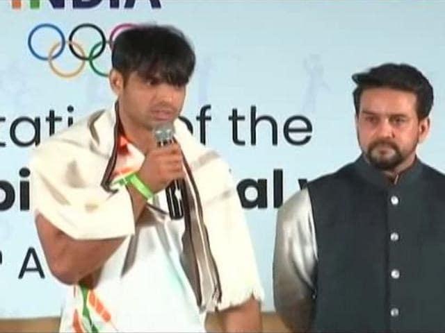 "Video : ""<i>Style Baad Mei, Game Pehle</i>"": Neeraj Chopra On Why He Cut His Long Hair"