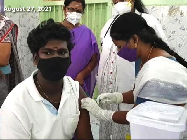 Video : 50% Adults In India Have Got At Least One Vaccine Dose