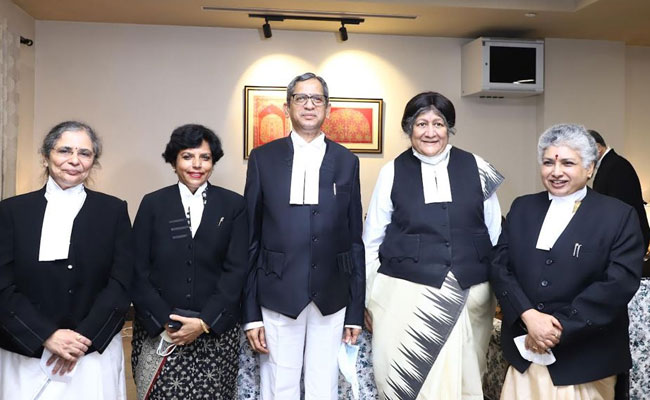 4 Women Judges In Supreme Court After Historic Oath Today
