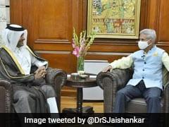 S Jaishankar, Qatar's Envoy For Conflict Resolution Discuss Afghan Crisis