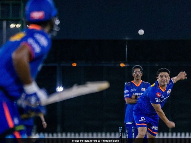 Watch: Mumbai Indians Have Their First Training Session For IPL 2021 UAE Leg