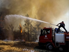 Turkey Wildfires Death Count Rises To 8, Coastal Resorts Affected