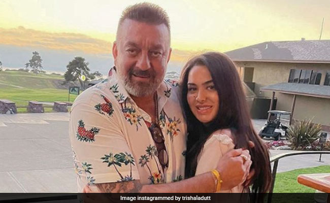 Trishala Started 'Chapter 33' Of Her Life With Dad Sanjay Dutt By Her Side. See Her Post