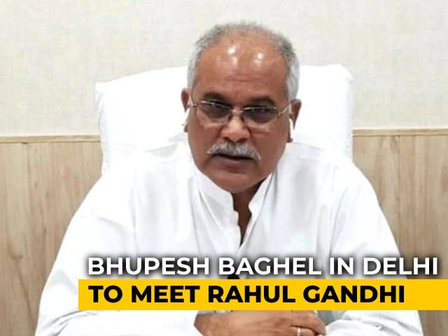 Video : Amid Congress's Chhattisgarh Crisis, MLAs Loyal To Bhupesh Baghel Gather In Delhi
