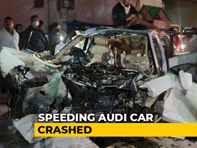Video : On CCTV, Audi Crash In Bengaluru. Tamil Nadu MLA's Son Among 7 Dead