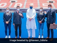 Odisha CM Naveen Patnaik Felicitates Hockey Players From State For Spectacular Show At Tokyo Olympics