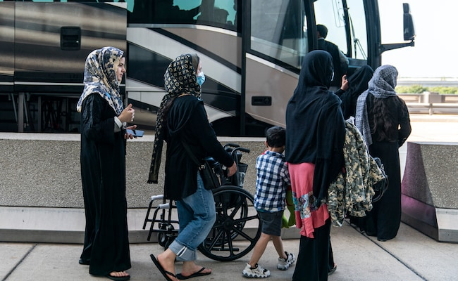 'Please Let Us On The Bus': Heartbreak On Kabul Airport Convoy