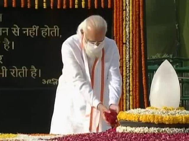 Video : President, Prime Minister Pay Tribute To Late Atal Bihari Vajpayee