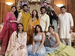 "Sonam, Rhea, Khushi, Shanaya, Arjun Kapoor And ""<I>Khaandaan</i>"" Are All Smiles In Pics From Antara Motiwala Marwah's <i>Godh Bharai</i>"