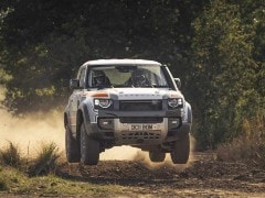 Bowler Reveals Land Rover Defender Rally Car