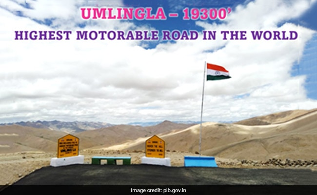 India Builds World's Highest Road In Ladakh, Beats Bolivia's Record