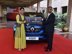 Renault Gifts The Kiger Subcompact SUV To Tokyo Olympics 2020 Flagbearer MC Mary Kom