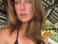 Kareena Kapoor Is Logging Her Maldives Vacation, Selfie By Selfie