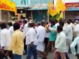 Video : TDP Stages Protest Against Rising Fuel Prices In Andhra Pradesh