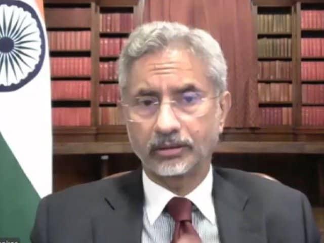 "Video : Evacuating Indian Embassy Staff From Kabul Was ""Difficult"": S Jaishankar"