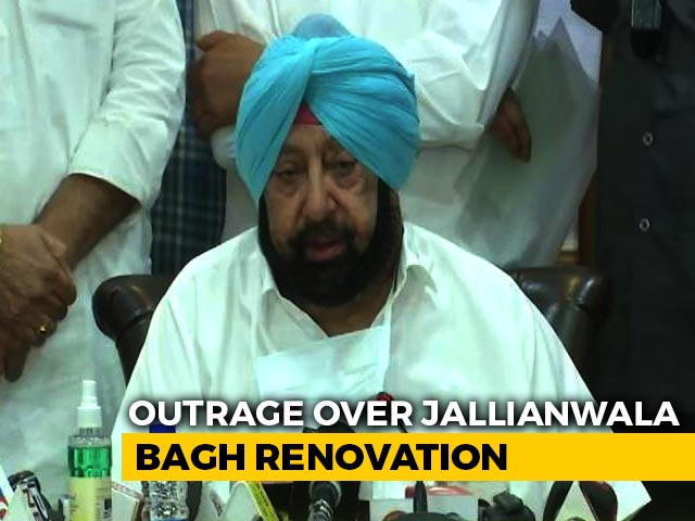 "Video : ""Looks Nice"": Amarinder Singh Contradicts Rahul Gandhi Over Jallianwala"