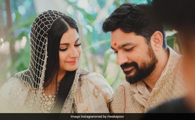 Wait, Did Rhea Kapoor Marry Karan Boolani In Her Living Room? See Her Post
