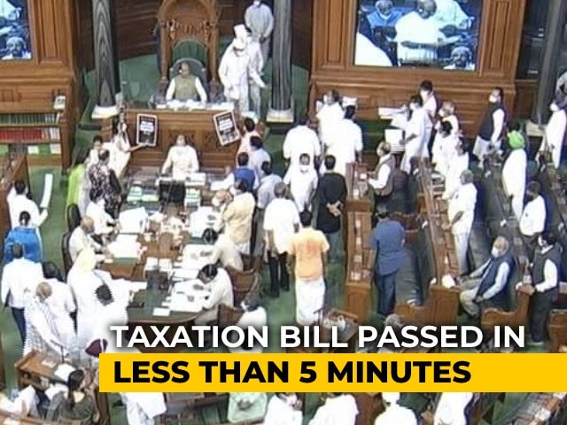 Video : Lok Sabha Nod To Tax Law Amendment