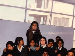 """Mini Mathur Was A """"Backbencher In A Class Of Future Doctors"""". Can You Spot Her?"""