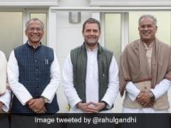 As Congress's Chhattisgarh Crisis Deepens, MLAs Head To Delhi
